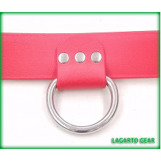 Drop down D-ring 1 inch wide Leather