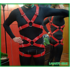 GatorStrap™ 8-X Harness with 10 buckles 1.5 inch wide strap
