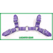 GatorStrap™ Bulldog Harness with 4 buckles 1.5 inch wide strap