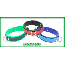 GatorStrap™ Collar 1 inch wide primary plus 1.5 inch wide pad strap with Front-D