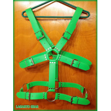 GatorStrap™ X-Torso Belt Harness with 6 buckles 1.5 inch wide strap