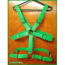 GatorStrap™ X-Chest Torso Harness 6 buckle 1.5 inch wide strap