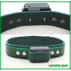Add YOUR Shock Box to a Lagarto Leather Collar