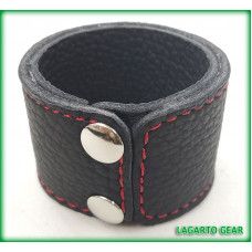 Buffalo or Bullhide Primary Strap Cuff with Liner