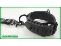 "Latigo Suspension Cuffs 1.5"" wide Primary Strap with locking staple plates"