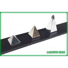 Pyramid Spikes - 0.5 (1/2) inch - screw back REGULAR height