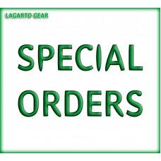 SPECIAL ORDERS Billing