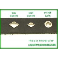 Diamond Studs - 0.375 inch