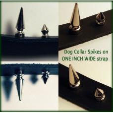 Dog Collar Spikes - 0.5 inch tall