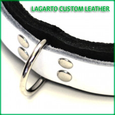 Extra D-rings for Leather Double Strap Collars