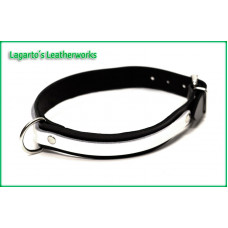1 Inch plus 1/2 inch Two Strap Latigo Collar with 1
