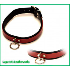 1 inch plus 5/8 inch Two Strap Latigo Collar with 5/8