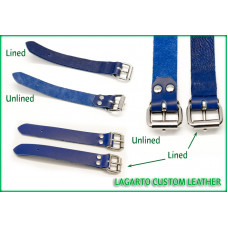 1 Inch wide collar extender strap with buckle