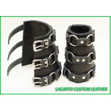 Fine Wrist Ring-Strap Bracers (pair)