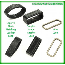 Leather Keeper Loop