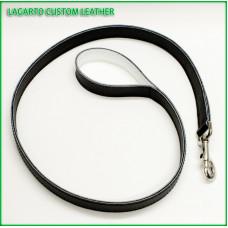 Longest Leash 1 inch wide Soft Chap Leather