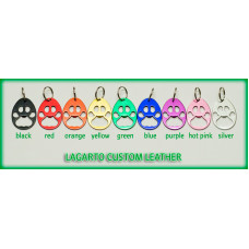 Paw Print Bottle Opener with key ring