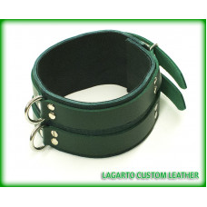 3 Inch Buffalo Posture Collar with Buffalo Liner 2 buckle straps
