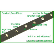 Flat Head Disc - 0.5 (1/2) inch round studs