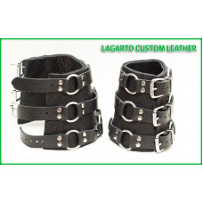 Thick Wrist Ring-Strap Bracers (pair)